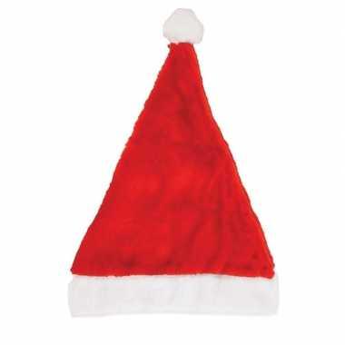 10x kerstmutsen 29 x 42 cm voor volwassenen kopen