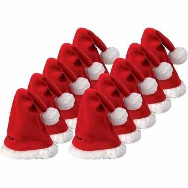 10x mini kerstmuts kopen