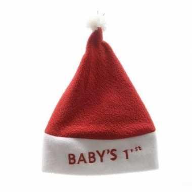 Baby kerstmuts babys 1ste/eerste kerst kopen