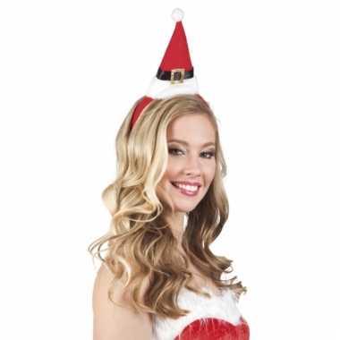 Feest kerstmuts op hoofdband kopen