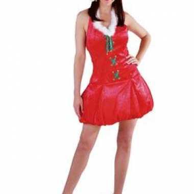Kerst outfit met muts voor dames kopen