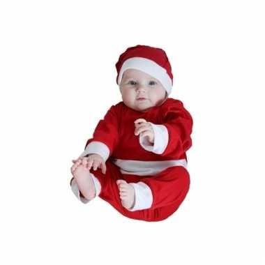 Kerstman outfit voor een baby