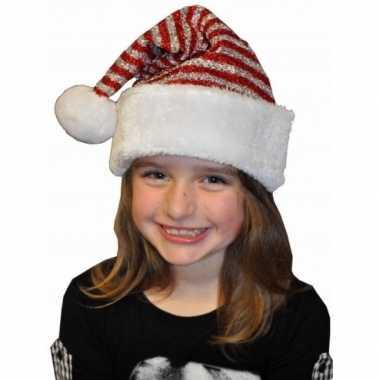 Kerstmuts met glitters voor kinderen kopen