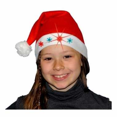 Kerstmuts met lampjes voor kinderen kopen