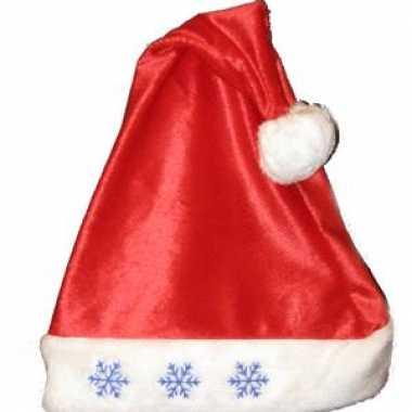 Kerstmuts met sneeuwvlok lampjes kopen