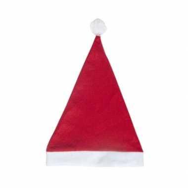 Rode voordelige kerstmuts voor volwassenen kopen