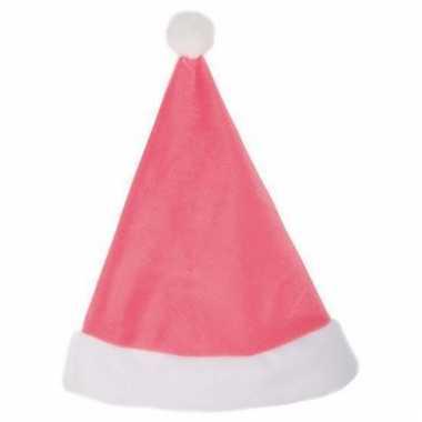 Roze kerstmutsje kopen
