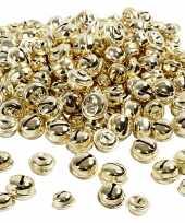 220x gouden metalen belletjes 13 15 17 mm met oog hobby knutsel benodigdheden